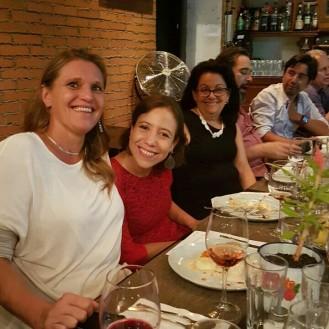 Kristel Leonard, Miriam Alfonso y Chezcarlita. sabores Mulato