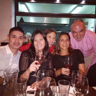 Yesenia Aravena, Sofía Lepe, Daniel Bañados, chezcarlita. Sabores Mulato