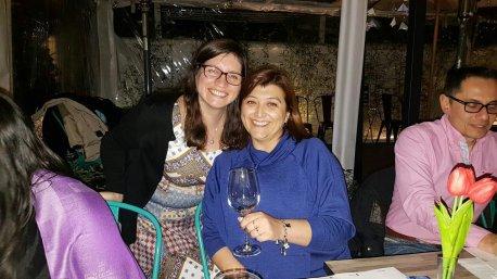 Carla Tapia y Javiera Andrade