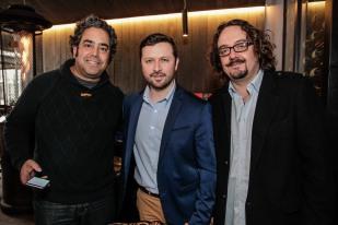 Juan Ernesto Jaeger, Felipe Ortiz, Eduardo Brethauer