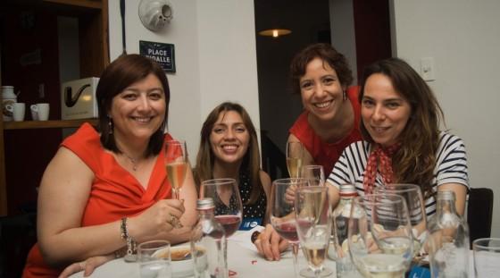 Carla Tapia, Rocío Marchant, Carlita Winelover, Carolina Seitz