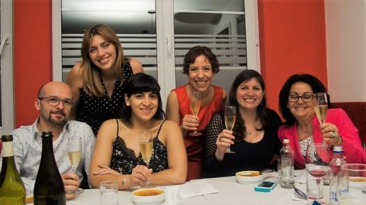 Tere Cossio, Massimo, Rocío Marchant, Javiera Andrade, Miriam Alfonso, Carlita Winelover