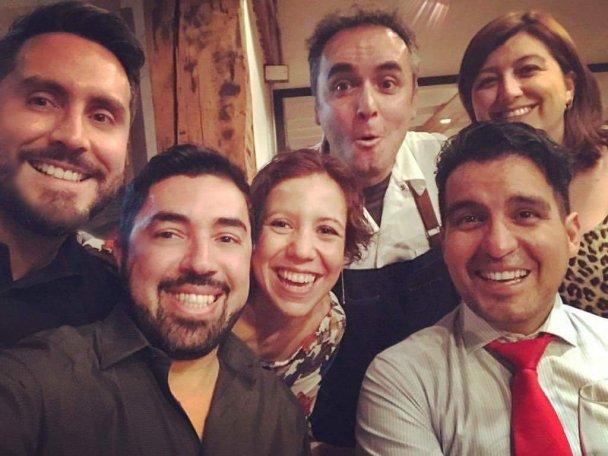 Carla Urrunaga, Carla Tapia, Alexis Briceño, Jonathan Jaimes, Cristian Correa