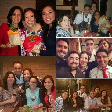 Nury Briceño, Ana Clavijo, Miriam Alonso, Cristian Correa, Alexis Briceño