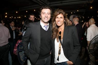 Gustavo Gatica y Alejandra Silva
