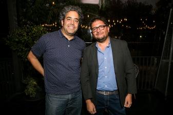 Juan Jaeger y Álvaro Peña